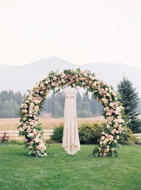 floral arches